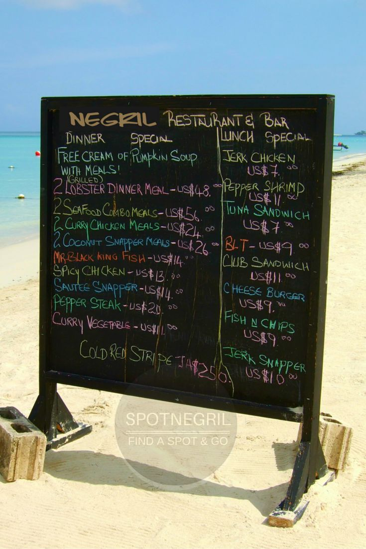 Great eats & views on Seven Mile Beach in Negril, Jamaica