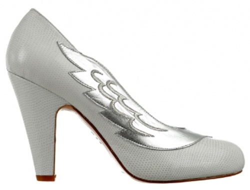 Minna Parikka Lulu silver and white