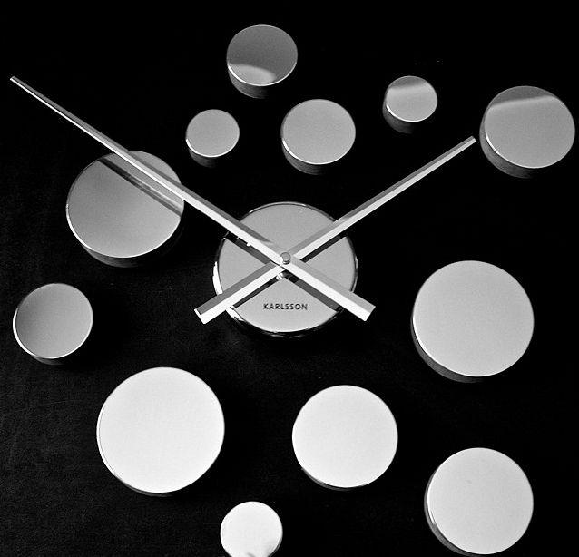 Zegar ścienny DIY Dots by Karlsson