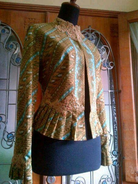 Batik blazer Inspiration of batik batikretail.com