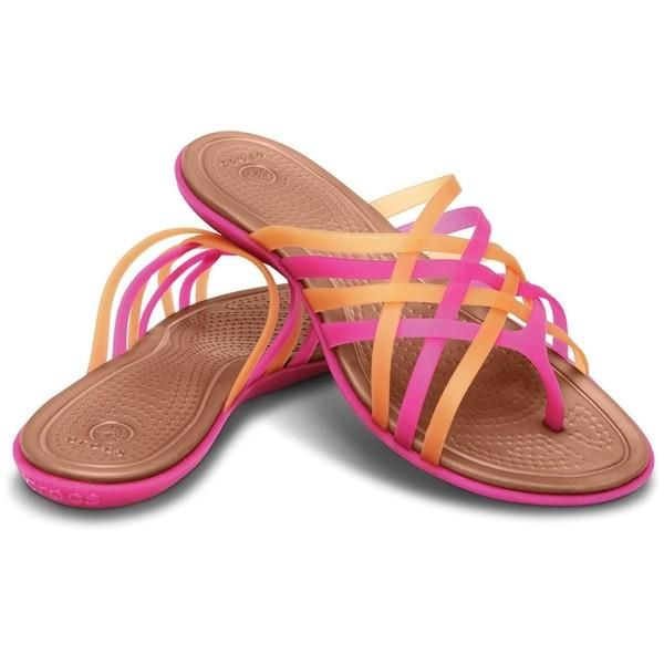 Women S Huarache Flip Flop Crocs I Love Huarache