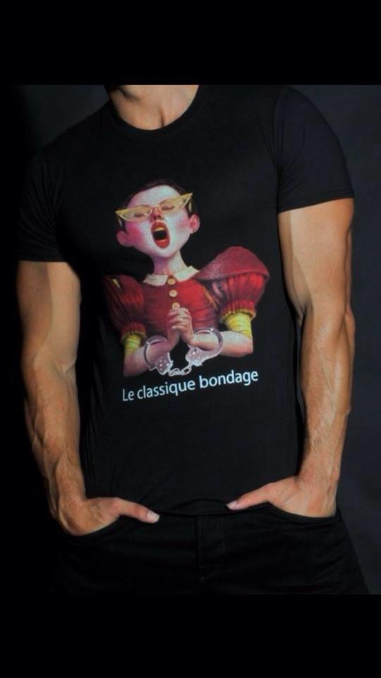 T-Shirt la classique bondage!