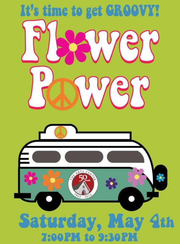 Corvallis, OR The Arts Center Plaza will be rockin' and you won't want to miss it!  We continue our 50th anniversary celebration with Flower Power – a 1960's themed party in honor of the decade we opened.   … Click flyer for more >>