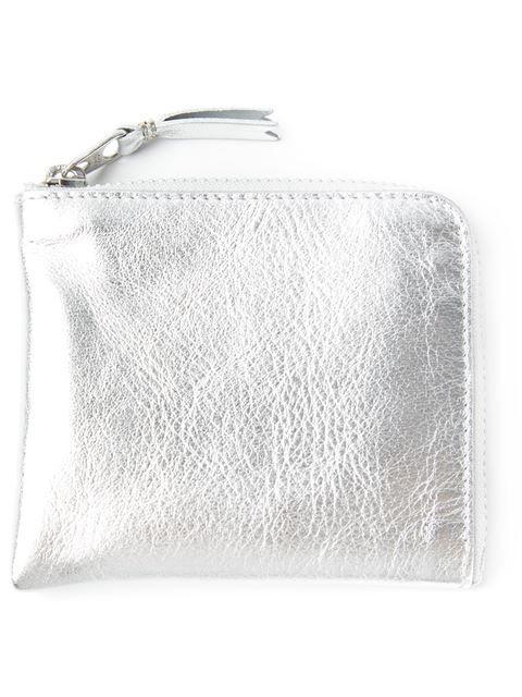 Comme Des Garçons Wallet Leather Zip Case