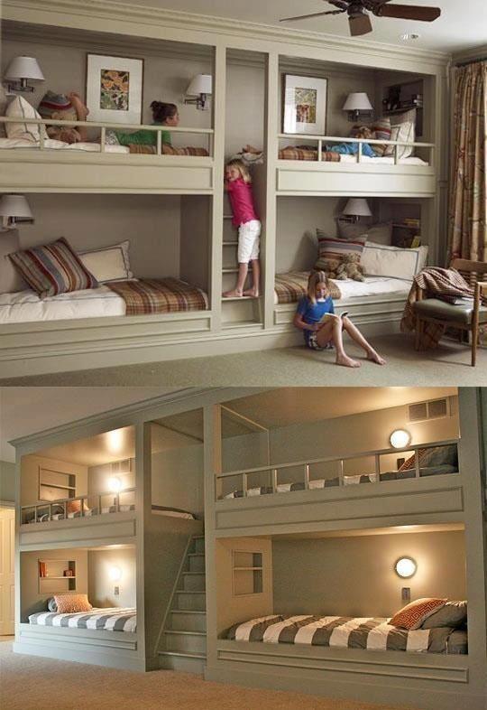 Sleepover room :) More ideas visit: www.whapin.com #bedroomideas