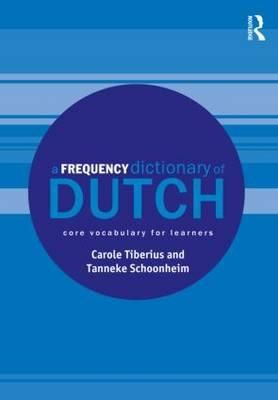 A Frequency Dictionary of Dutch: Core Vocabulary for Learners  Description: A Frequency Dictionary of Dutch is a valuable tool for all learners of Dutch providing a list of the 5000 most frequently used words in the language. Based on a 290 million word corpus which includes both written and spoken material from a wide range of sources this dictionary presents Dutch core vocabulary in a detailed and clearly arranged manner: each of the 5000 entries includes English equivalents and a sample…