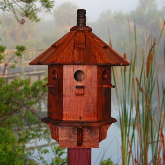 Bird Houses for Sale Yellow Finch Bird House by BeeGracious, $155.00