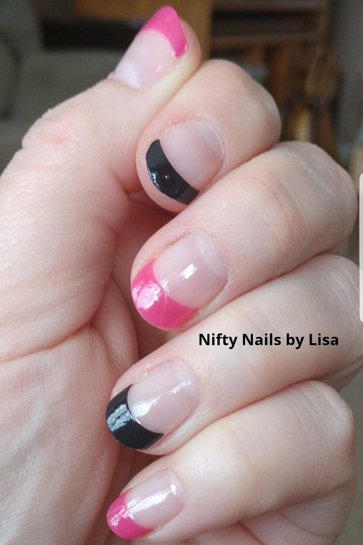 French Hollywood Kiss & French Gotham Night | Color Street 100% Nail ...