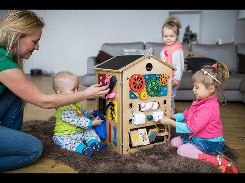 Занятный Дом - игровой развивающий комплекс для детей от 8 месяцев до 5 лет - YouTube