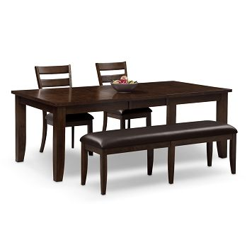 abaco dining room 4 pc dinette value city furniture