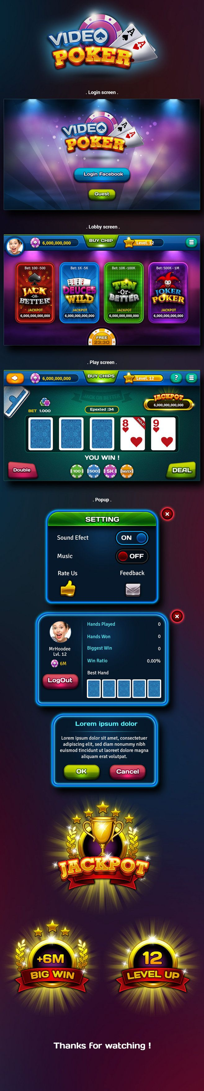 Video Poker : This i...
