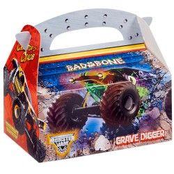 Monster Jam 3D Empty Favor Boxes