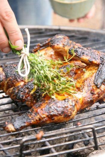 Peri-peri spatchcock chicken, recipe on http://nomu.co.za