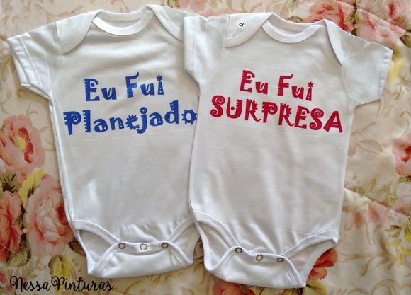Body Gêmeos- Surpresa/ Planejado