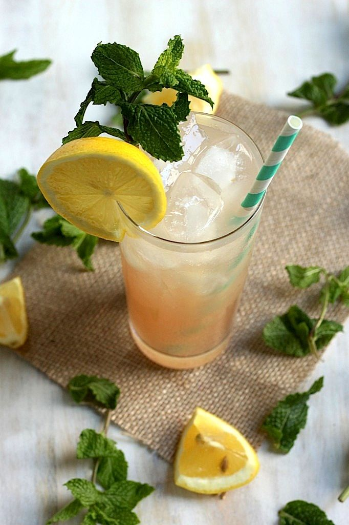 The Tequila Healer - Fresh ginger, mint, tequila, lemon, and lime
