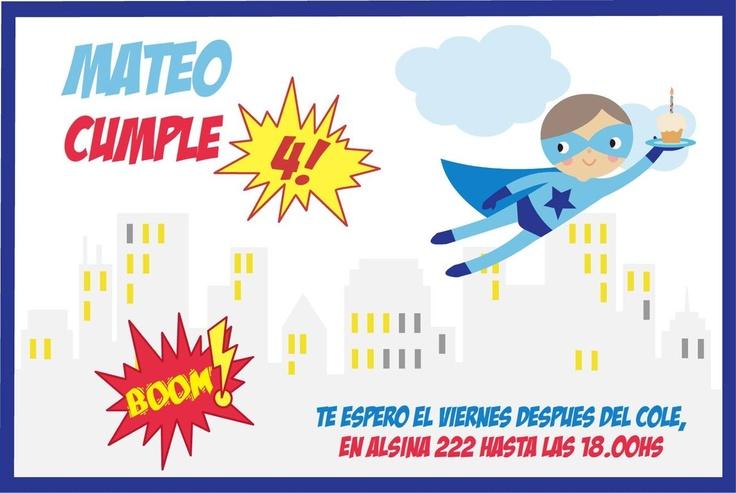 Boom! Mateo Cumple 4!!