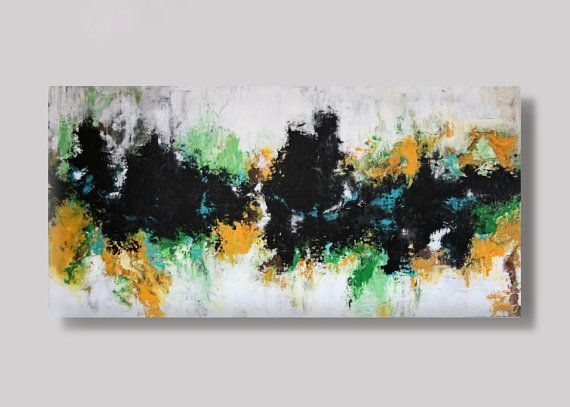 FREE SHIPPING Acrylic paintingabstract paintig by KamikaArt