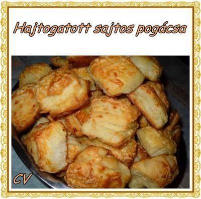 Házias konyha: Hajtogatott sajtos pogácsa