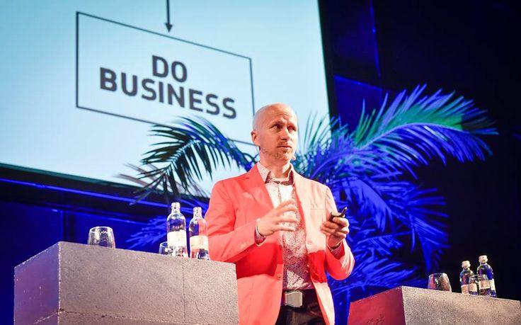 Simple flowchart: Do business