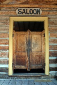These bar doors and the doors to come into the bar. They are old and & 9 best saloon doors images on Pinterest | Western saloon Bedrooms ...