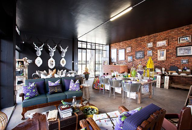 The recently regenerated Maboneng Precinct is a mixed-use urban neighbourhood with can't-miss shops, such as 1886 Boutique, alongside delicious restaurants and busy markets.