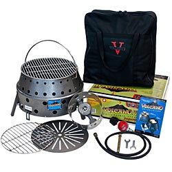 We LOVE our Volcano! Cook anything, no matter the disaster or just for fun.Volcano Ii, Volcano Grilled, Volcano Stoves, Volcano Collap, Emergency Essential, Emergency Preparedness, Collapsible Stoves, Ii Collapsible, Collap Stoves