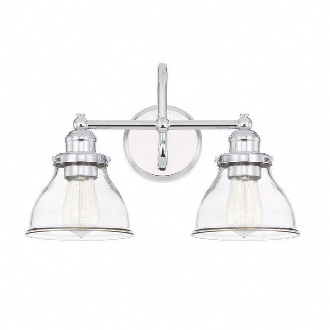 Montpelier Klarglas Vanity Light – 2 Licht