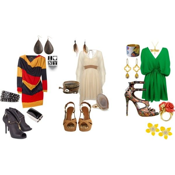 """Signature Style's """"Edgy Chic / Hippy Chic / Funky Chic"""", created by authenticstyleexpert.polyvore.com"""