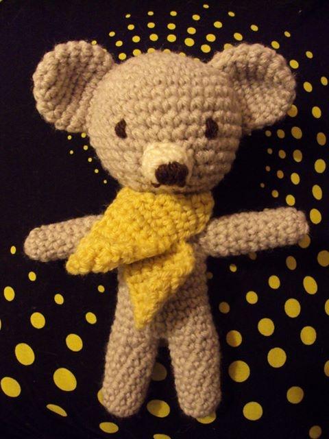 Ursinho de croché / crochet bear