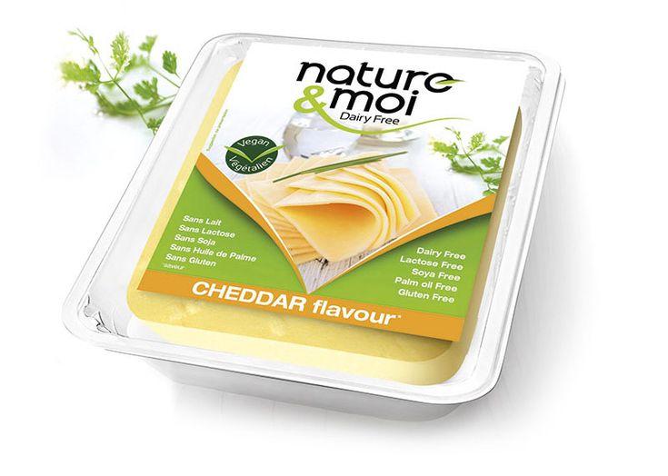 fromage vegan végétalien goat cheddar