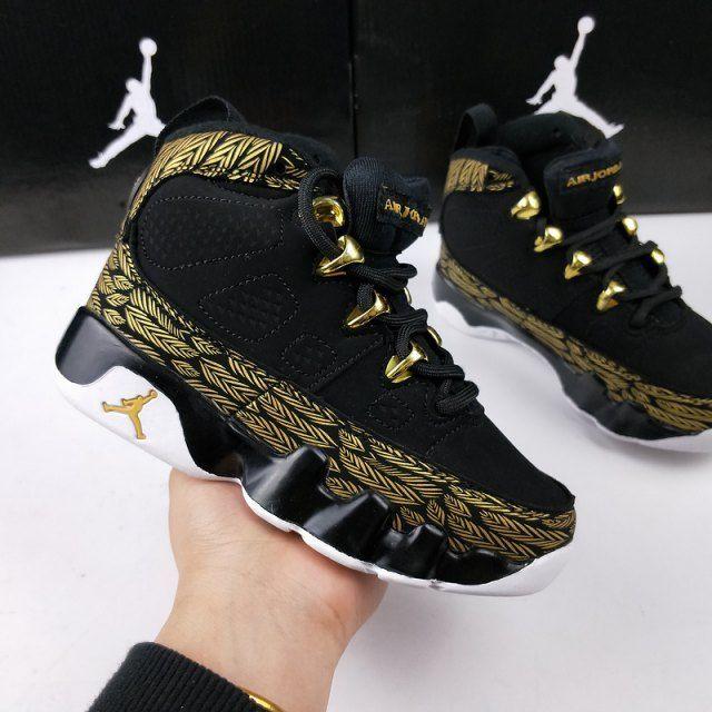 Kids Nike Air Jordan 9 Basketball Shoes