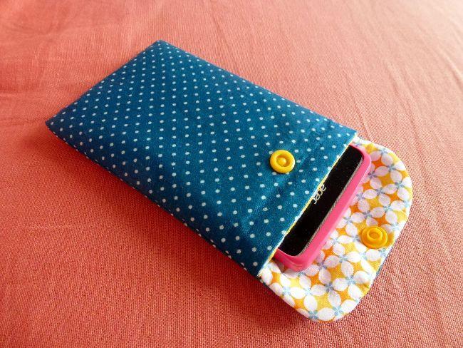 1722e3d9b2 housse de téléphone portable Tutoriel Couture Pochette, Pochette Pour Téléphone  Portable, Accessoire Telephone Portable