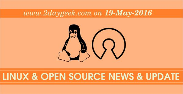 Linux News & Open Source News & Updates on May 19, 2016