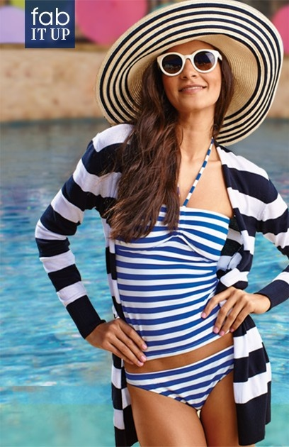 Look fabulous all summer long with the latest in designer swimwear.  Already bought 2 great swimsuits @ Marshalls for $19.99 each!!!