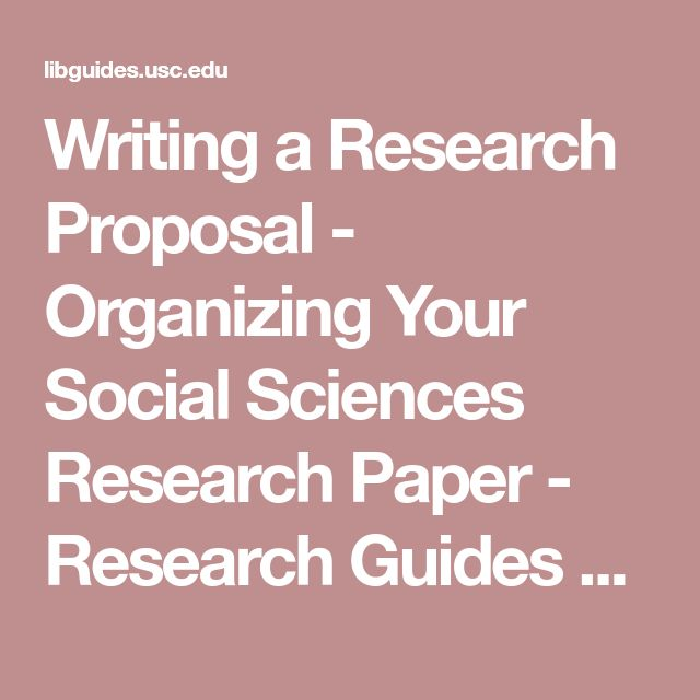 35 best Research images on Pinterest Research proposal - research proposals