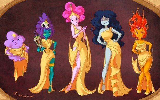 "The Muses | 32 Mashups That Prove ""Adventure Time"" Makes Everything Way More Awesome"