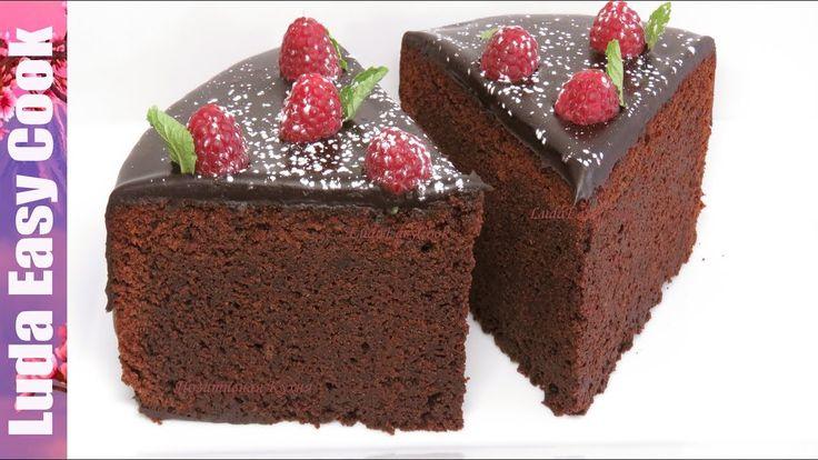 МЕГА ШОКОЛАДНЫЙ ТОРТ Мечта ВСЕХ СЛАДКОЕЖЕК / How to Make Easy Chocolate Cake / LÀM BÁNH SOCOLA - YouTube Chocolate cake   на кипятке Schokoladenkuchen