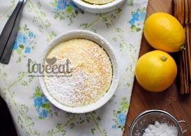Лимонный пудинг в духовке