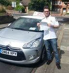 Driving Lessons, Try Us and See Deal 10 Hrs - £169  Congratulations to Max Saudelli of Rochester Kent, who passed his Practical driving test on Thursday 4th June.  Max passed his driving test at the Gillingham driving test centre. Now the journey to visit friends will be so much easier, I hope to see you driving around Gillingham very soon. Well done Max this should really make a massive difference to you , and give you that all important independence.   All the best for the future from your…