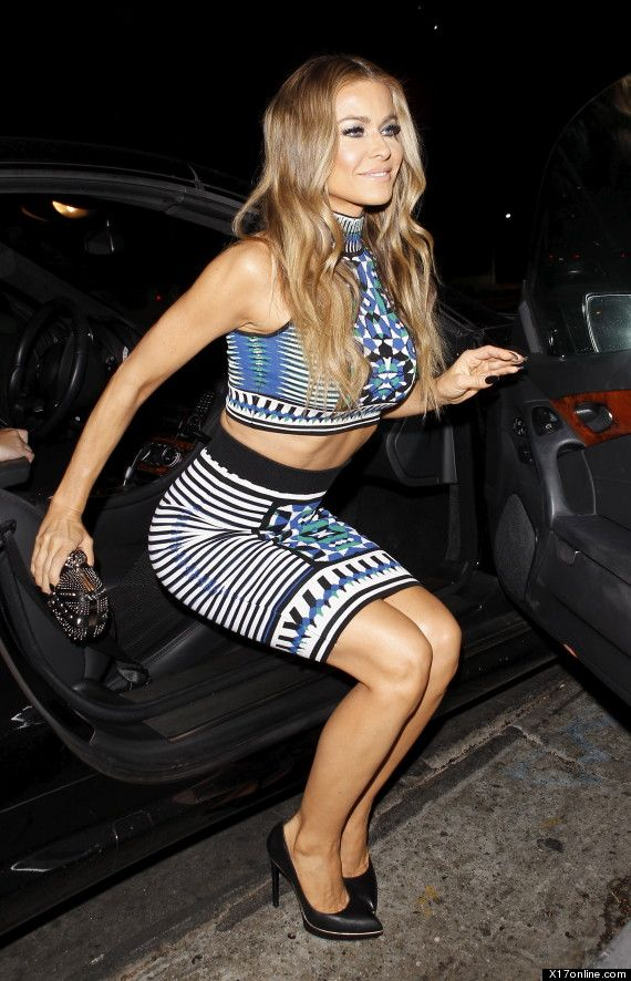 Carmen Electra Wears Crop Top For Girls' Night Out