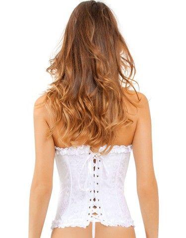 lovely little corset | adore mePlans, White Corsets, Corsets Satin, Secret, Fantastic Corsets, Yvonne Corsets, Corsets Yvonne