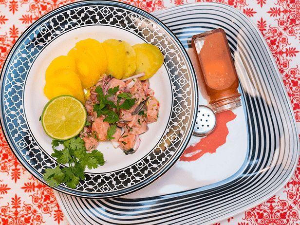 Ceviche de Salmão - Chef Pedro Benoliel - Food Network