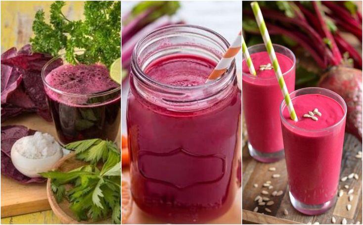 jugos verdes remolacha