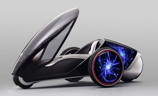 Toyota FV2 Futuristic Vehicle Doesn't Use Steering Wheel, Shift Your Body to Steer!