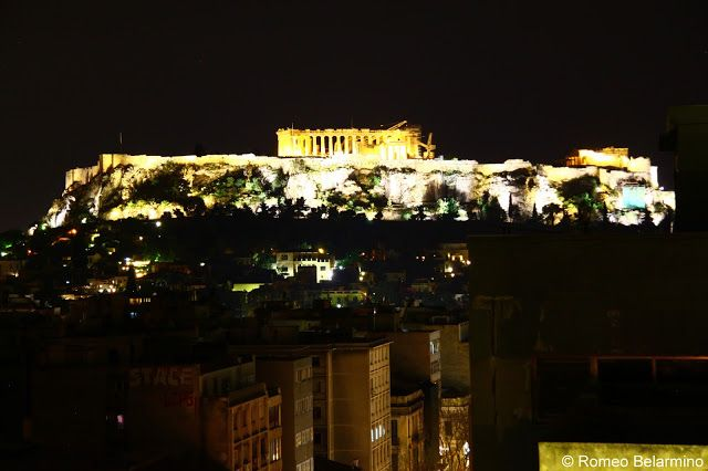 Athens Bars with Acropolis View