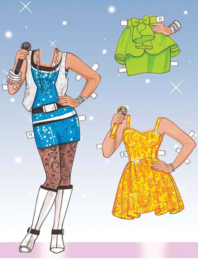 SOME NEW PAPER DOLL BOOKS FROM DOVER PUBLISHING