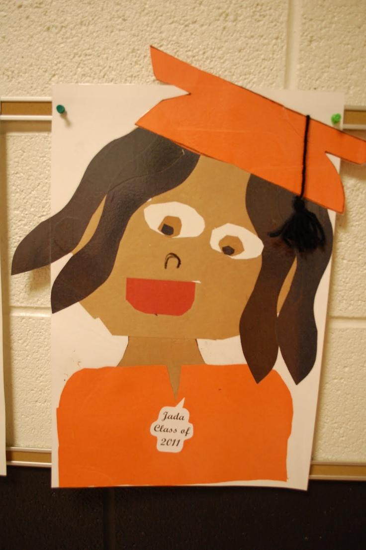 Classroom Ideas Organization ~ Graduation end of school year craft music arts