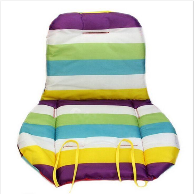 2016 Liner Car Seat Pad Waterproof Padding Pram Rainbow Baby Kids Stroller Cushion Hot Sale New Arrival