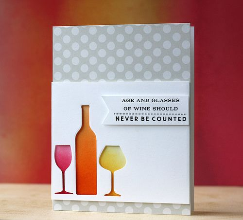 335 best cards winedrinks images on pinterest handmade cards introducing uncorked m4hsunfo