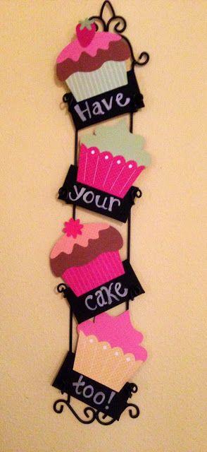 cupcake manualidad